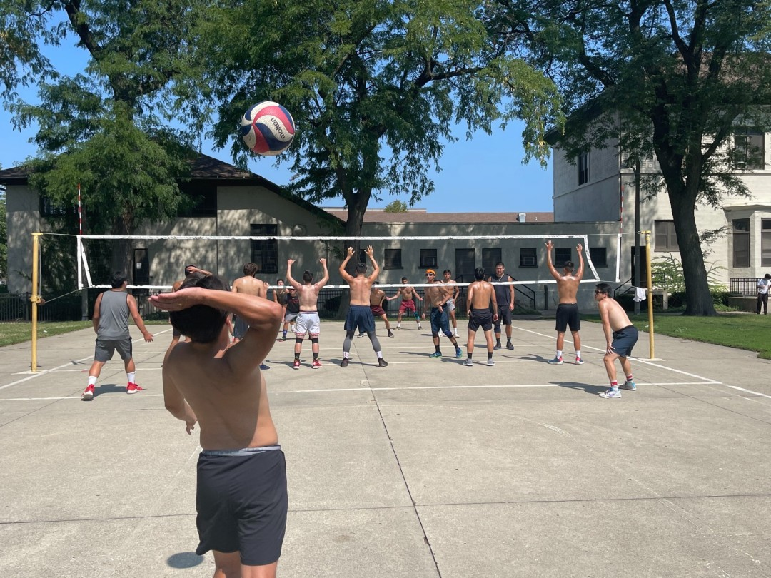 blockclubchicago.org: Chicago's Only All-Asian Volleyball Team Hopes To Make Noise At This Weekend's Chinese 9-Man National Tournament